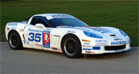 John Heinricy driving the #35 Team Torvec-Phoenix Performance Chevrolet Corvette in the June Sprints race at Road America June 26th 2010